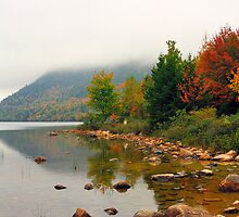 Jordan Pond, Acadia National Park, Maine, USA by fauselr