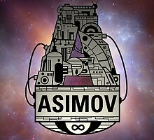 Forever Asimov (white) by olivertrigger