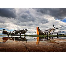 ~Flying Legends~ Photographic Print