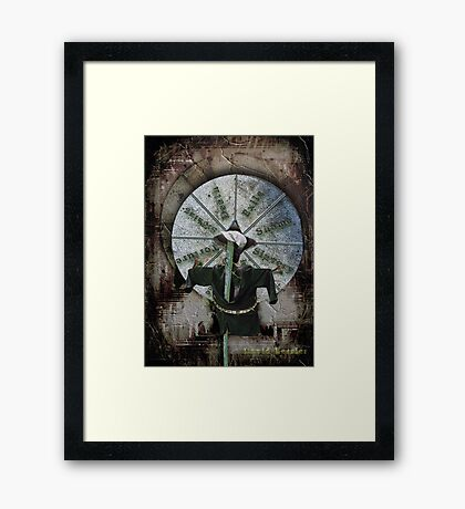 Bust a deal, spin the wheel Framed Print