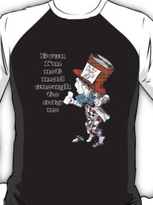 Funny Mad Hatter Scottish Independence T-Shirt T-Shirt