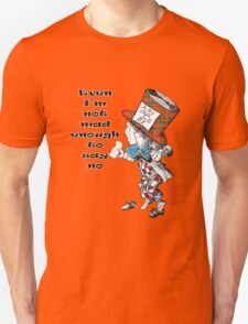 Funny Mad Hatter Scottish Independence T-Shirt Unisex T-Shirt