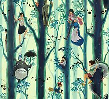 Studio Ghibli Family Tree by Optimistic  Sammich