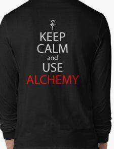 fullmetal alchemist keep calm and use alchemy anime manga shirt Long Sleeve T-Shirt