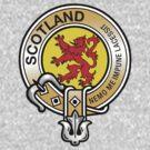 Scotland Lion Rampant Crest by eyemac24