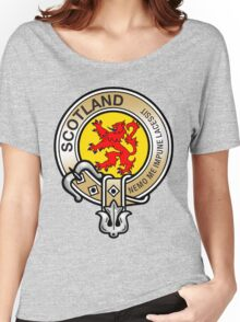 Scotland Lion Rampant Crest Women's Relaxed Fit T-Shirt