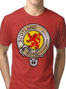 Scotland Lion Rampant Crest Tri-blend T-Shirt