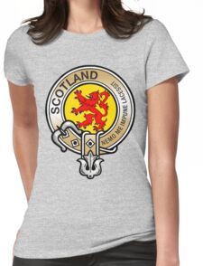 Scotland Lion Rampant Crest Womens Fitted T-Shirt
