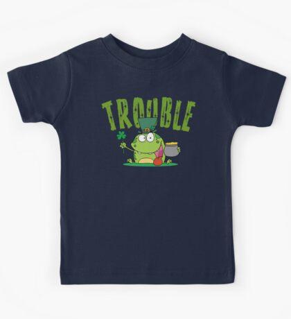 Irish Trouble Kids Tee