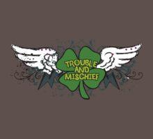 Irish Trouble Baby Tee