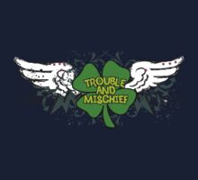 Irish Trouble Kids Tee