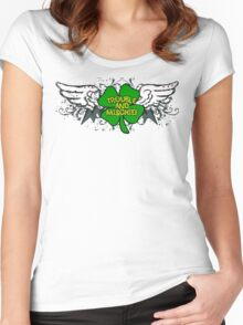 Irish Trouble Women's Fitted Scoop T-Shirt