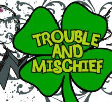 Irish Trouble Sticker