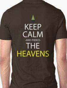 gurren lagann keep calm and pierce the heavens anime manga shirt T-Shirt
