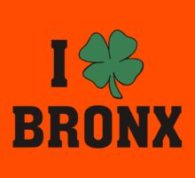 I Love (Shamrock) Bronx Kids Clothes