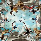 Great Sport Stars Compilation, Beckham, Kaka, Zidane by fine-art-prints