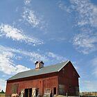 Red Barn - Spokane, WA by CADavis
