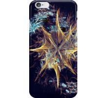 Christmas - Golden Star iPhone Case/Skin