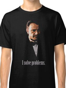 Mr. Wolf. Problem Solver. Classic T-Shirt