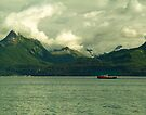 Fish Collection Boat Near Valdez by Yukondick