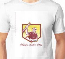 Labor Day Greeting Card Builder Plan Hammer Unisex T-Shirt
