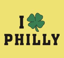 I Love (Shamrock) Philly Kids Clothes