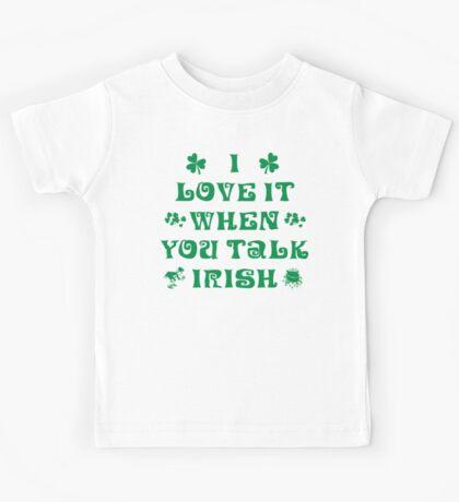 Talk Irish To Me Kids Tee