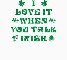 Talk Irish To Me Womens Fitted T-Shirt