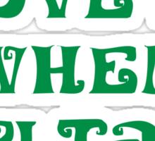 Talk Irish To Me Sticker
