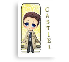 Supernatural - Castiel Canvas Print