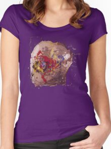all these sounds in my brain  Women's Fitted Scoop T-Shirt