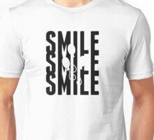 SMILE^3 V2 BLACK Unisex T-Shirt