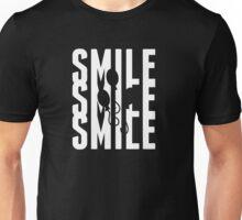 SMILE^3 V2 WHITE Unisex T-Shirt