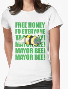 Mayor Bee! Womens Fitted T-Shirt
