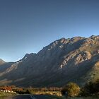 Stellenbosch Mountains - HDR by Margo Naude