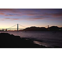 San Francisco -  Sunset Photographic Print