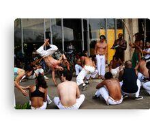 Capoeira em Brazil Canvas Print