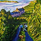 """Road Scene, near Rossport, County Mayo."" by Laura Butler"