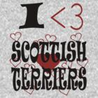 I <3 Scottish Terriers by veganese