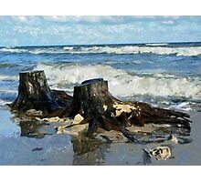 sea shore Photographic Print