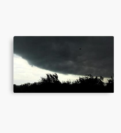 Small Tornado Passing By Canvas Print