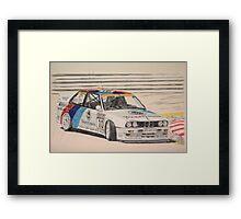 Steve Soper, sideways Framed Print