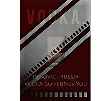 Vodka Photographic Print