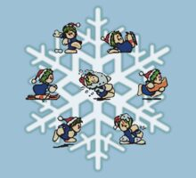 Christmas Lemmings 1994! (With Snowflake) by HungryHorace