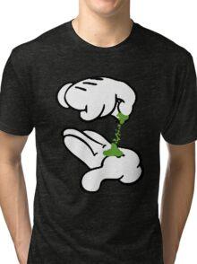 Pot Hands  Tri-blend T-Shirt