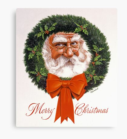 Jolly Old Saint Nick Canvas Print
