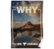 Why We Love Hiking Poster