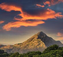 Sundown on Snowdon by Graeme Pettit Photography