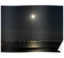 The Moonlit Reflections Poster