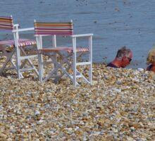 Beach Chairs Sticker